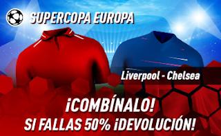 sportium Promo super copa europa Liverpool vs Chelsea 14 agosto 2019