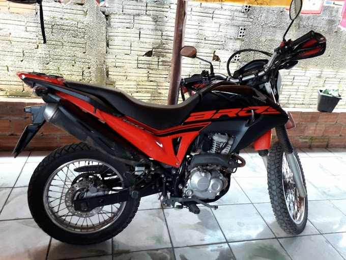 Urgente: Moto acaba de ser roubada em Alta Floresta