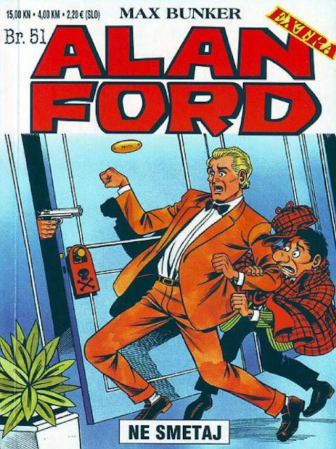 Ne Smetaj - Alan Ford
