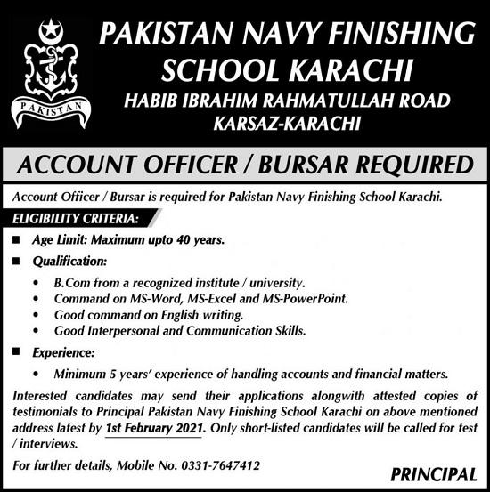 pakistan-navy-finishing-school-jobs-2021-karach-advertisement