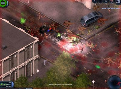 serangan musuh dalam alien shooter 2