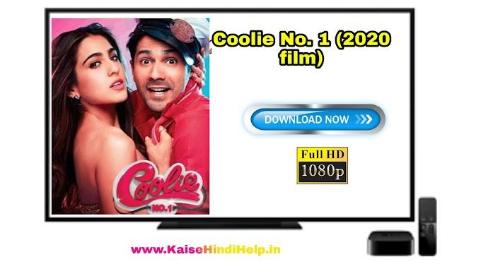 Coolie No.1 (2020) Full Movie Download HD 1080p  | Coolie No.1 Varun Dhawan