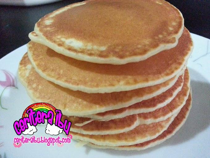 Pancake yang mudah dan sedap!!