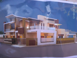 two side modern house design