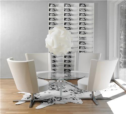 Design classic interior 2012 comedores modernos por materia for Comedores pequea os y bonitos