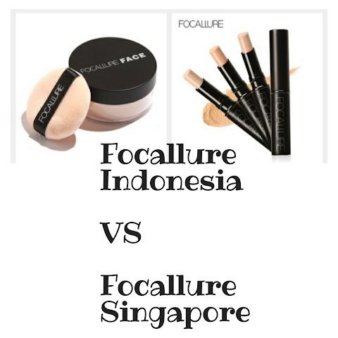 Focallure Indonesia VS Focallure Singapore. Perbedaan Harganya Jauh Banget!!