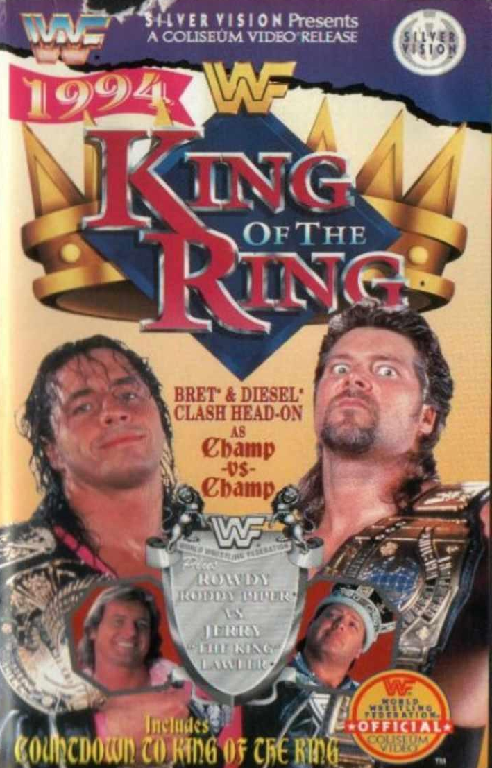 WWF / WWE: King of the Ring 1994 - Event poster
