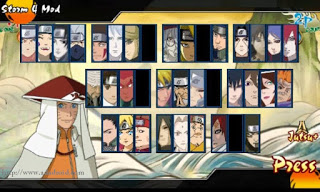 Download Naruto Senki Mod UNS 4 Version Code 1.1 Apk
