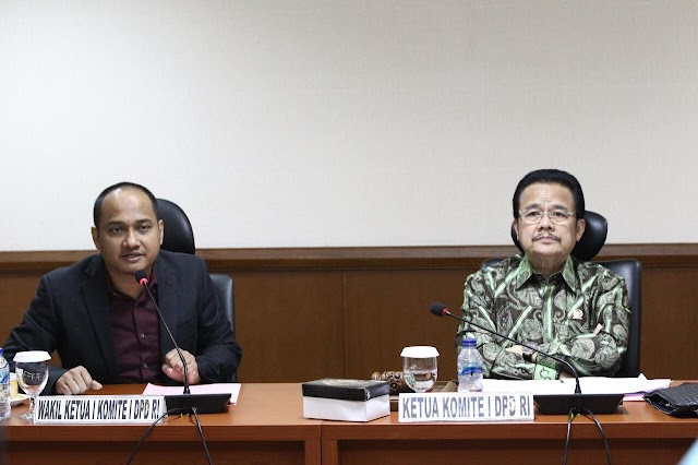 DPD RI Dalam Waktu Dekat Bertemu Wakil Presiden