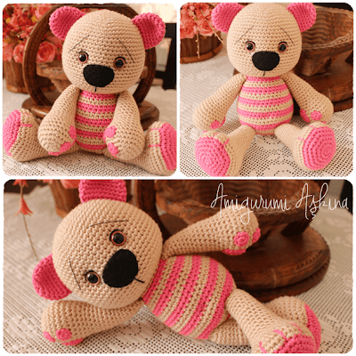 Amigurumi Sevimli Ayıcık-Amigurumi Bear