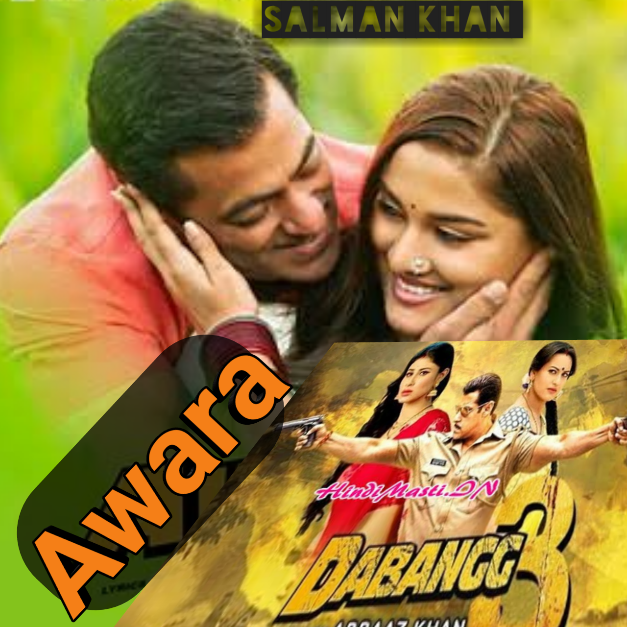 Full Video: Awara Lyrics  | Dabangg 3 | Salman Khan, Sonakshi, song lyrics in english