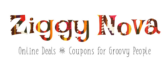 What is Ziggy Nova? Super cool online sales, freebies, and coupons for crunchy moms, hippies, bohemians, homesteaders, urban gardeners, vegans, vegetarians, clean eaters, yogis, environmentalists, off-the-gridders, survivalists, cruelty-free makeup/beauty enthusiasts and anyone who gives a darn about doing what's right for themselves, for others, and the planet.