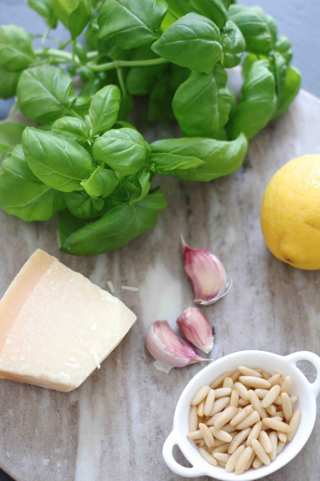 Pasta mit Salsa Verde