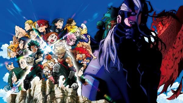 فلم أنمي Boku no Hero Academia the Movie 2 Heroes Rising مترجم أونلاين