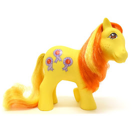 MLP Rosette Year Eight Int. Playset Ponies VI G1 Pony