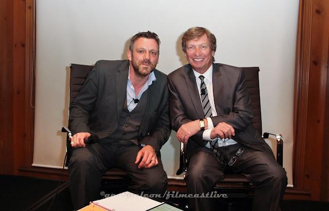 Phil Ashcroft, BAFTA LA, Nigel Lythgoe ©George Leon/filmcastlive