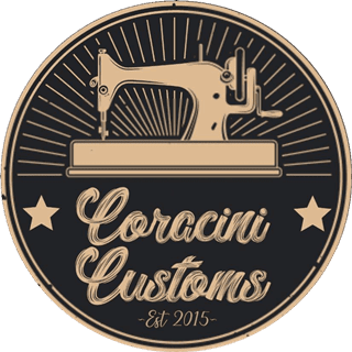 Logotipo Coracini Customs - Tapeçaria Automotiva