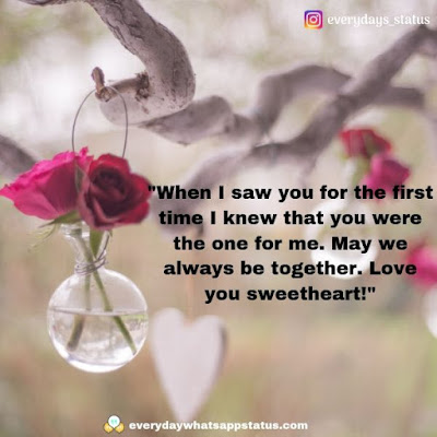 cute quotes   Everyday Whatsapp Status   Unique 50+ love quotes image about life