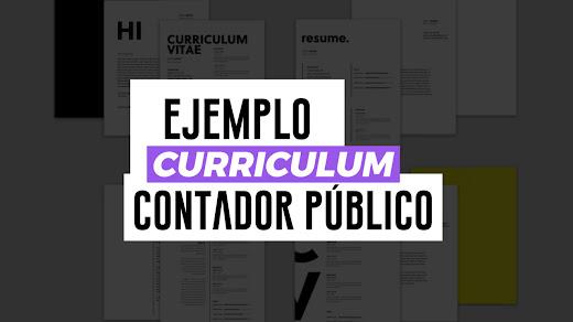 Ejemplo de CV de Contador Público Certificado (CPA)