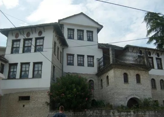 Gjirokastra, begins the reconstruction of the house of dictator Enver Hoxha