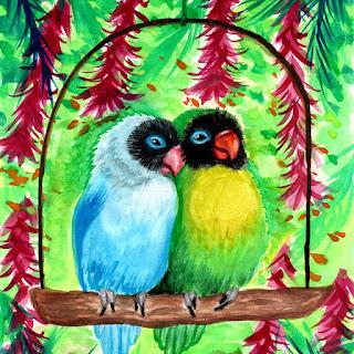 parrot pet bird merch
