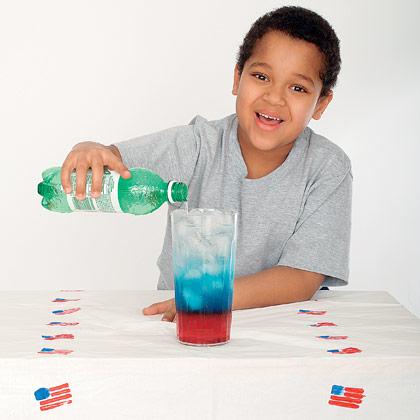 Patriotic Drink Recipe