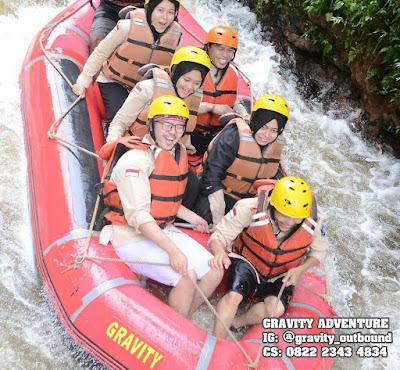 body rafting lembang bandung