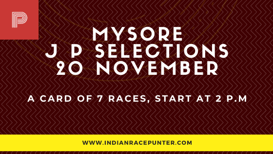 Mysore Jackpot Selections 20 November