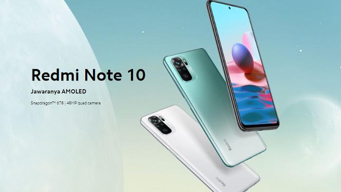 Penjualan Redmi Note 10 Dihentikan