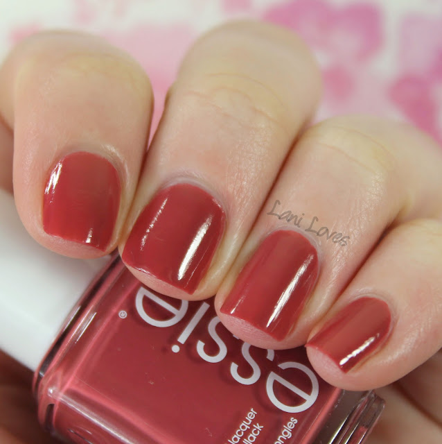 Essie In Stitches Nail Polish Review