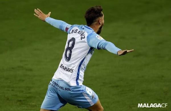 Málaga, el gol de Luis Muñoz es elegido el mejor de la jornada 26