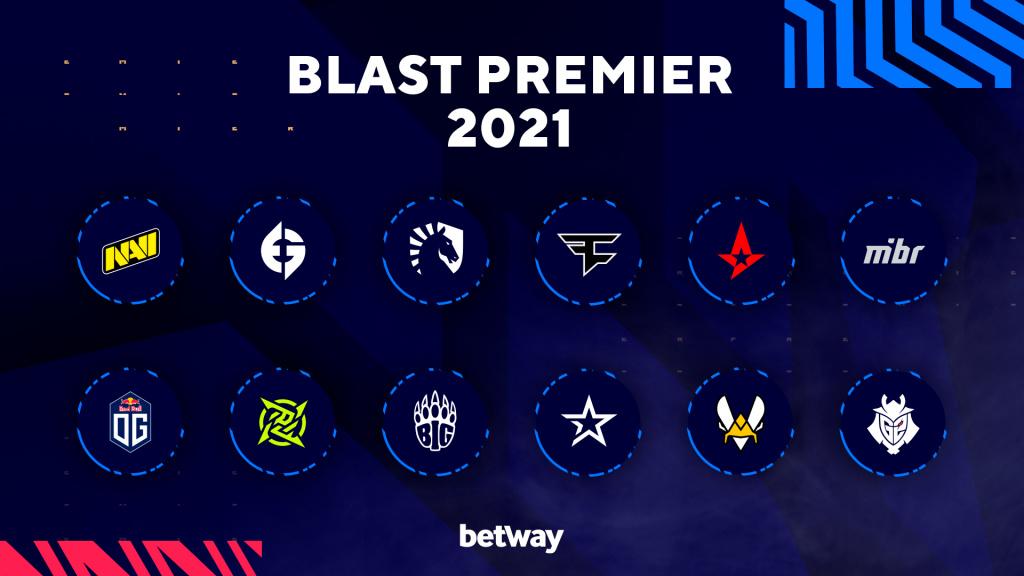 blast premier teams