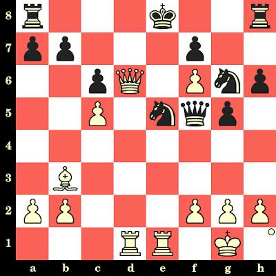 Les Blancs jouent et matent en 4 coups - Zoltan Von Balla vs Gyula Breyer, Cassovie, 1918
