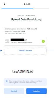 Upload Dokumen MySAPK
