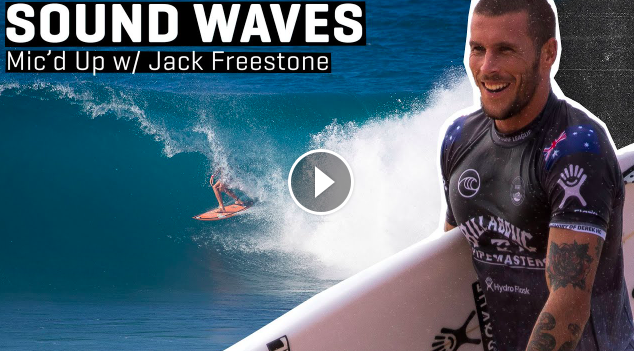 Jack Freestone And The Art Of Keeping Cool Under The Pressures Of Expectation SOUND WAVES