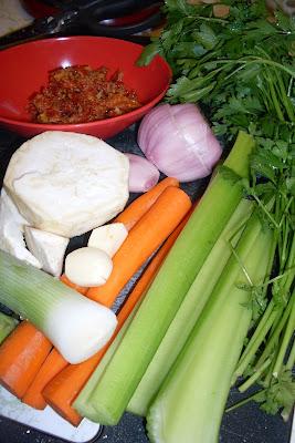 Easy to make Homemade Vegetable Bouillon Paste.