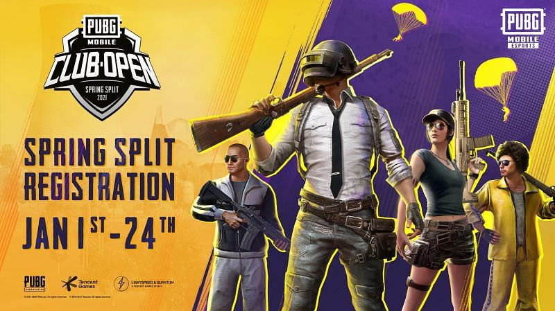 PUBG MOBILE CLUB OPEN 2021 REGISTRATION DATES ANNOUNCED, NEW REGIONS ADDED TO THE GLOBAL SEMI-PRO CIRCUIT
