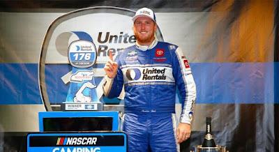 Austin Hill Wins Shortened Trucks Regular-Season Finale