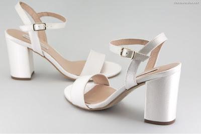 Zapatos de novia tacón ancho