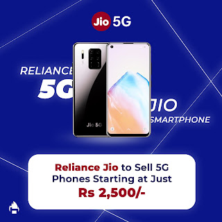 Jio will launch cheap 5G smartphone in 2,500 INR