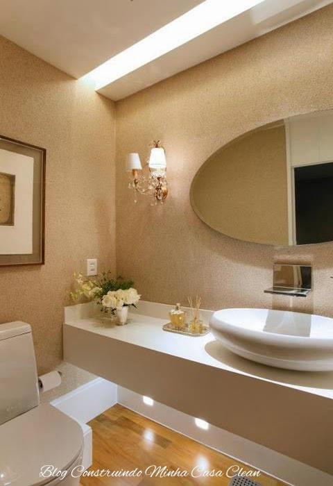 Construindo minha casa clean 55 lavabos de luxo - Lavabos de corian ...