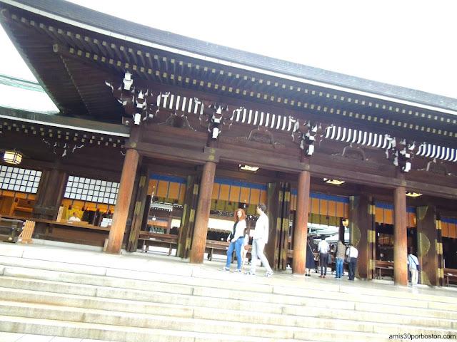 Honden del Santuario Meiji en Tokio