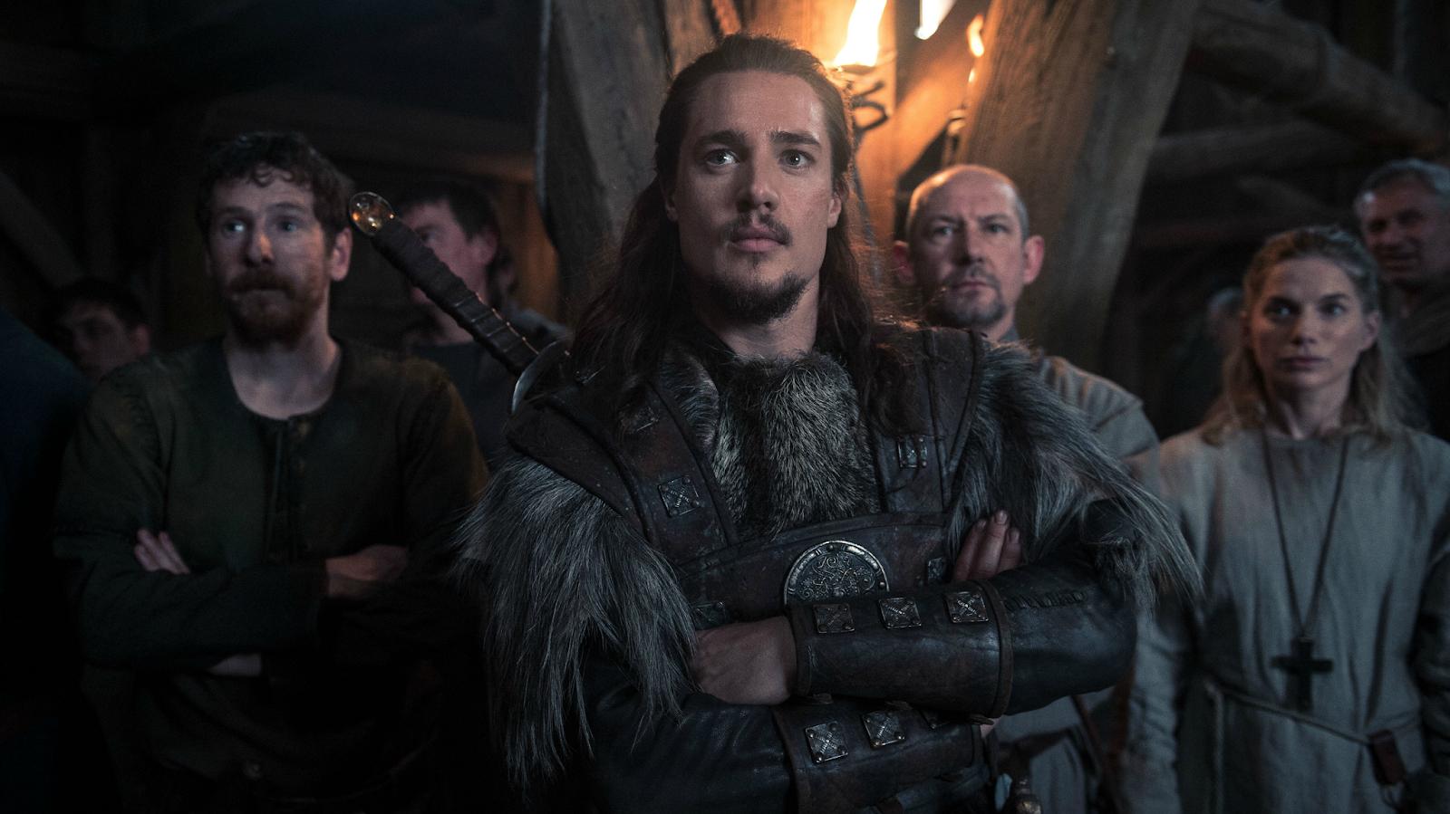 The Last Kingdom Uhtred Alexander Dreymon Ian Hart Beocca Eva Birthistle Hild Netflix