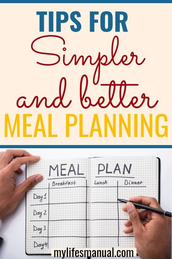 Meal Planning is simply planning in advance what you're going to eat. It is a great way of saving money and achieving complete nutrition. Learn the simpler and better ways for meal planning. #mealplan #mealplanning #mealprep
