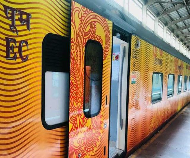 कल से राजेंद्र नगर-नई दिल्ली राजधानी एक्सप्रेस स्पेेेशल ट्रेन का तेजस रेक से होगा परिचालन, कई तरह की होगी आधुनिक सुविधाएं