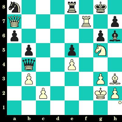 Les Blancs jouent et matent en 2 coups - Martin Zumsande vs Rainer Polzin, Allemagne, 2013