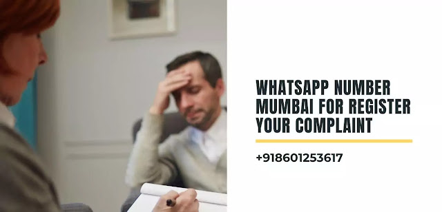 Whatsapp Number Mumbai For Register Your Complaint