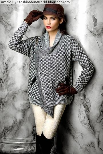 b03270f56ca7 UNIQUE FASHION COLLECTION  Bonanza Women Sweaters Collection 2015 ...
