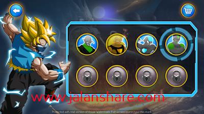 Download Goku Saiyan Battle Mod Apk Terbaru Full For Android