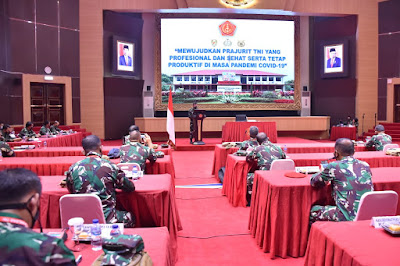 Aspers Panglima TNI Buka Rakornis Binjas Permildas